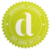 DevaCurl Academy Seal